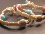 breast cancer survivor hemp bracelet